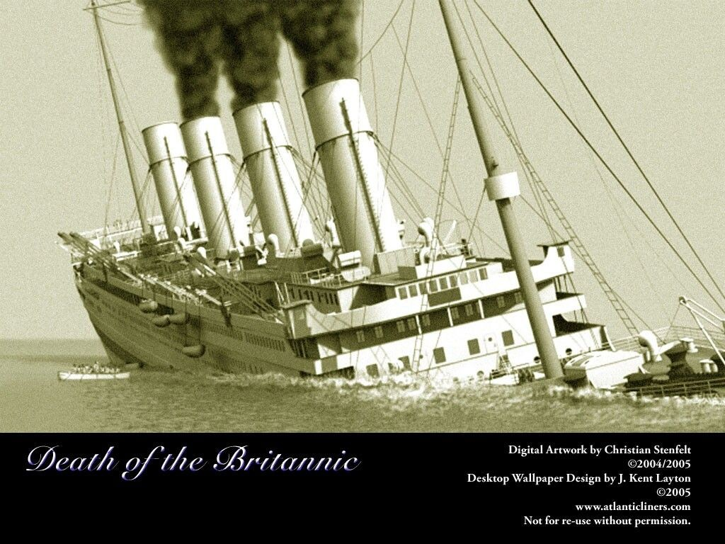 Titanic Papercraft Britannic Ships Pinterest