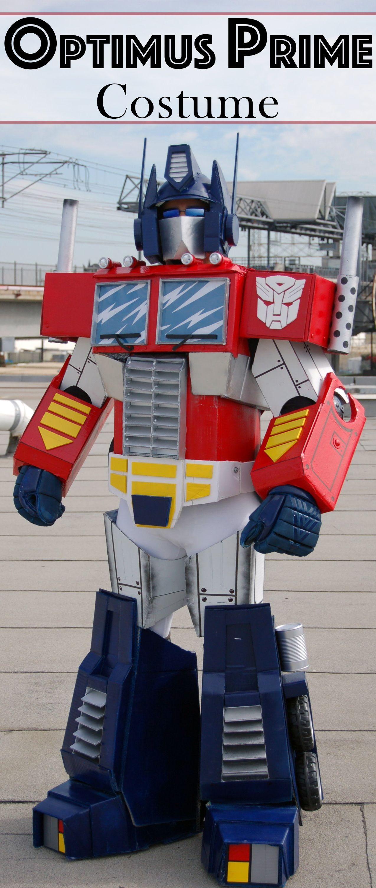 Transformers Papercraft Optimus Prime Optimus Prime Costume Armor N Props Pinterest