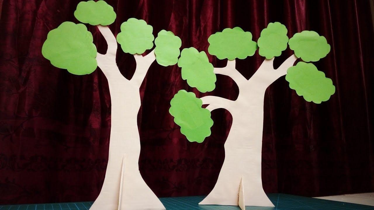 Tree Papercraft Paper Tree Papercraft Pinterest
