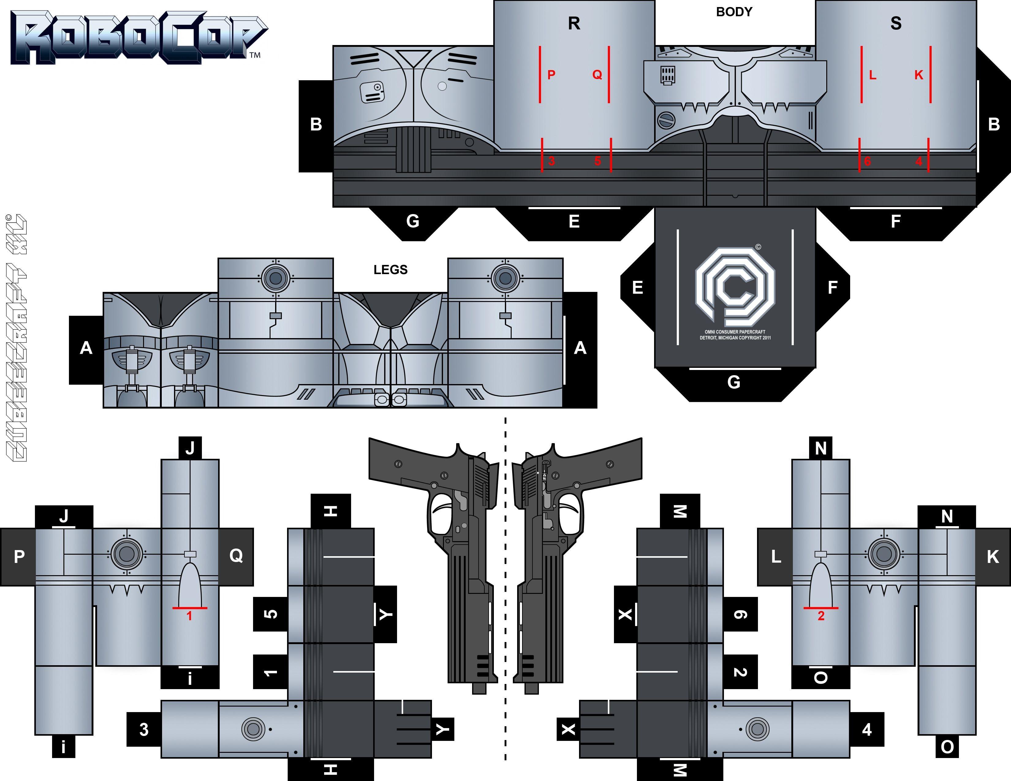 Tron Papercraft Tron Legacy Badge by Randyfivesix Paper Modles