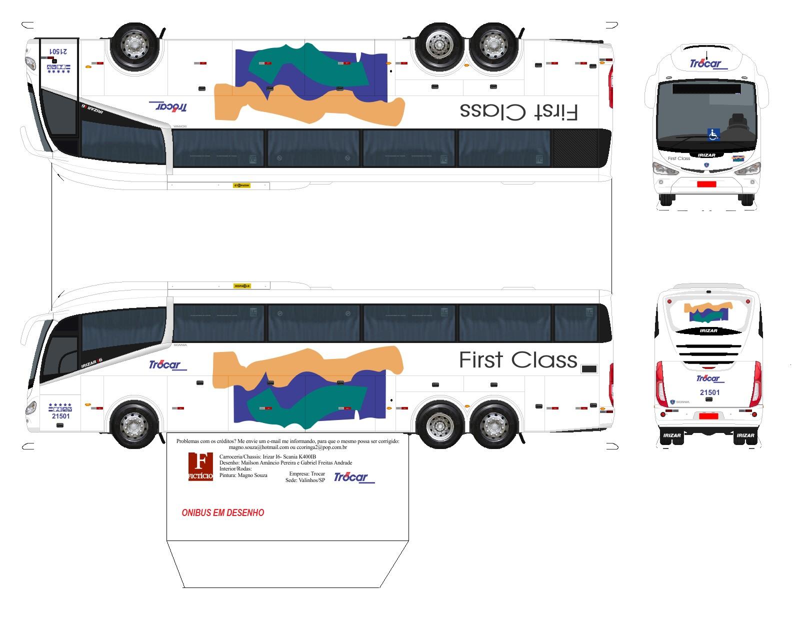 Truck Papercraft Convoy Semi Truck Papercraft