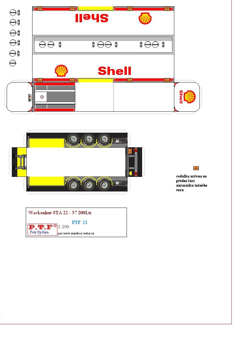 Truck Papercraft Ptf21 Wackenhut Sth 22 1 Png 807—1140 Paper Trucks