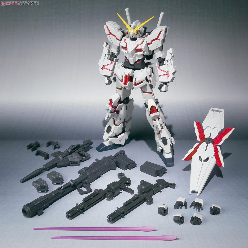 Unicorn Gundam Papercraft Gundam Meisters Robot Damashii 103 Unicorn Gundam Destroy Mode
