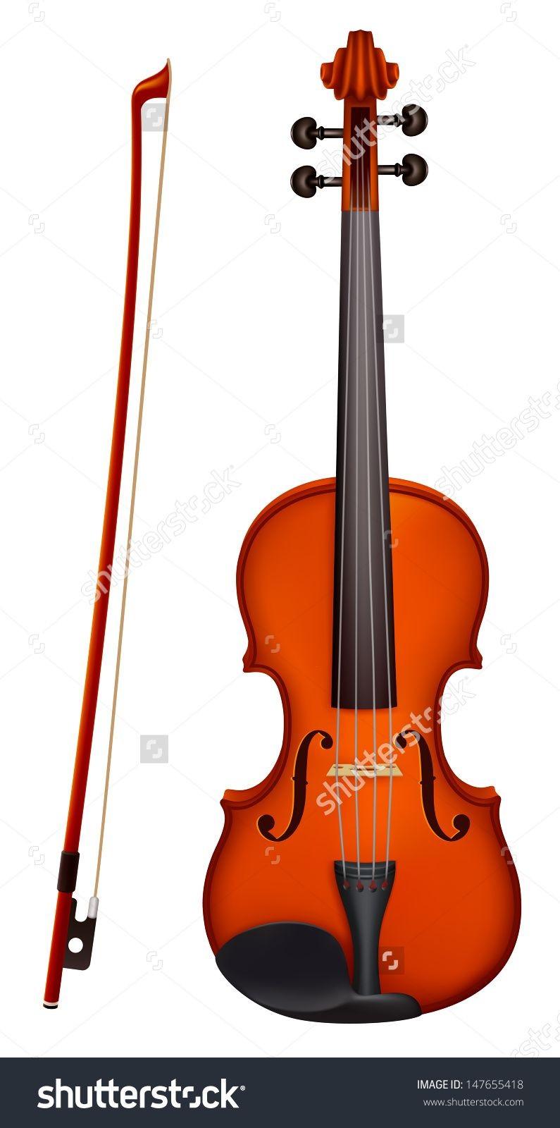 Violin Papercraft Deviser Shutterstock Vector Illustration isolated Vector Violin
