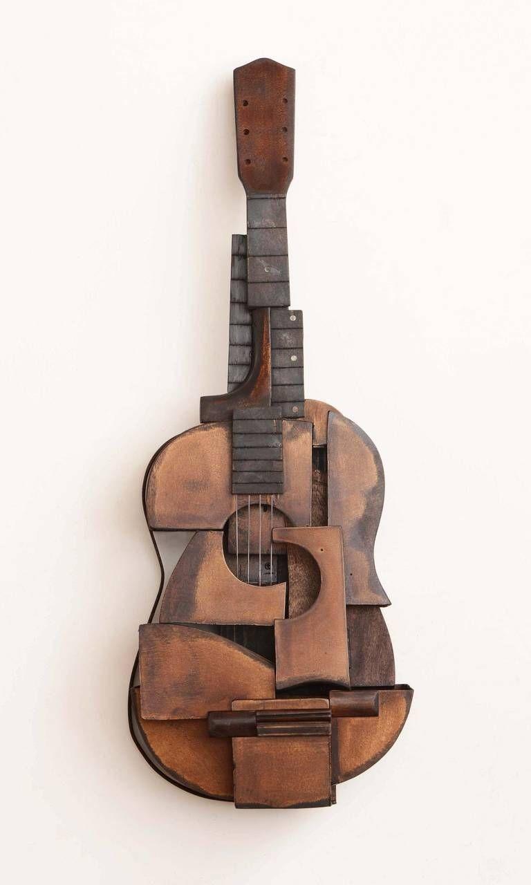 Violin Papercraft Koji Takei Guitar 3 Woodcraft Pinterest