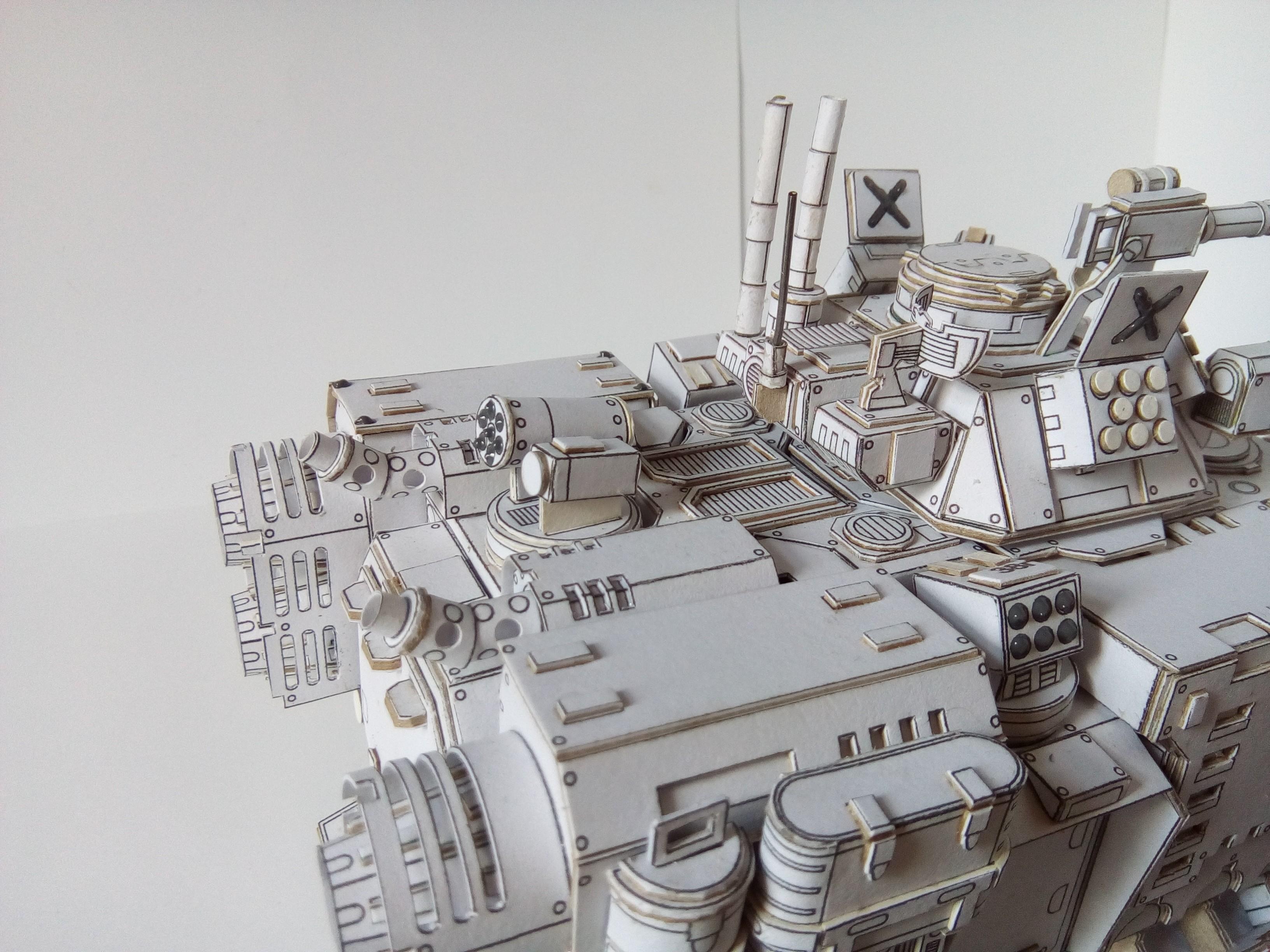 Warhammer 40k Papercraft Primaris Repulsor