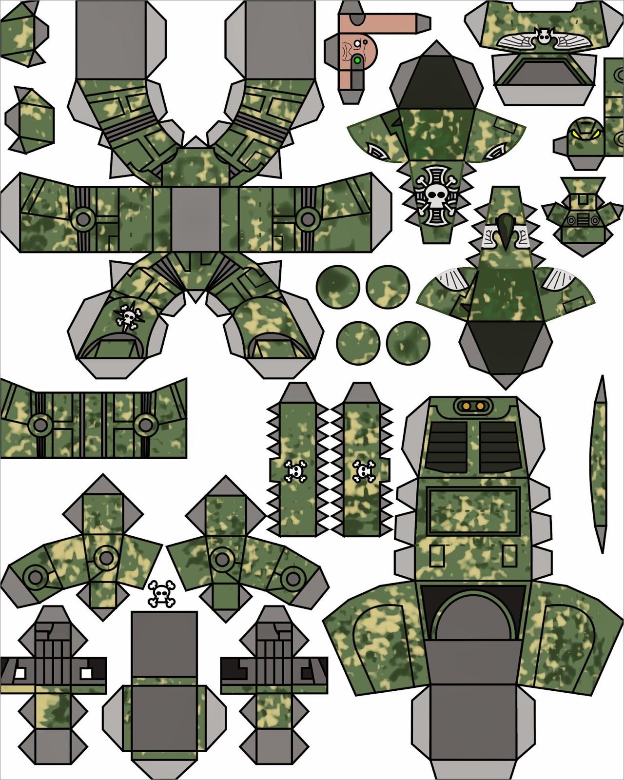 Warhammer 40k Papercraft Warhammer 40k Papercraft Download