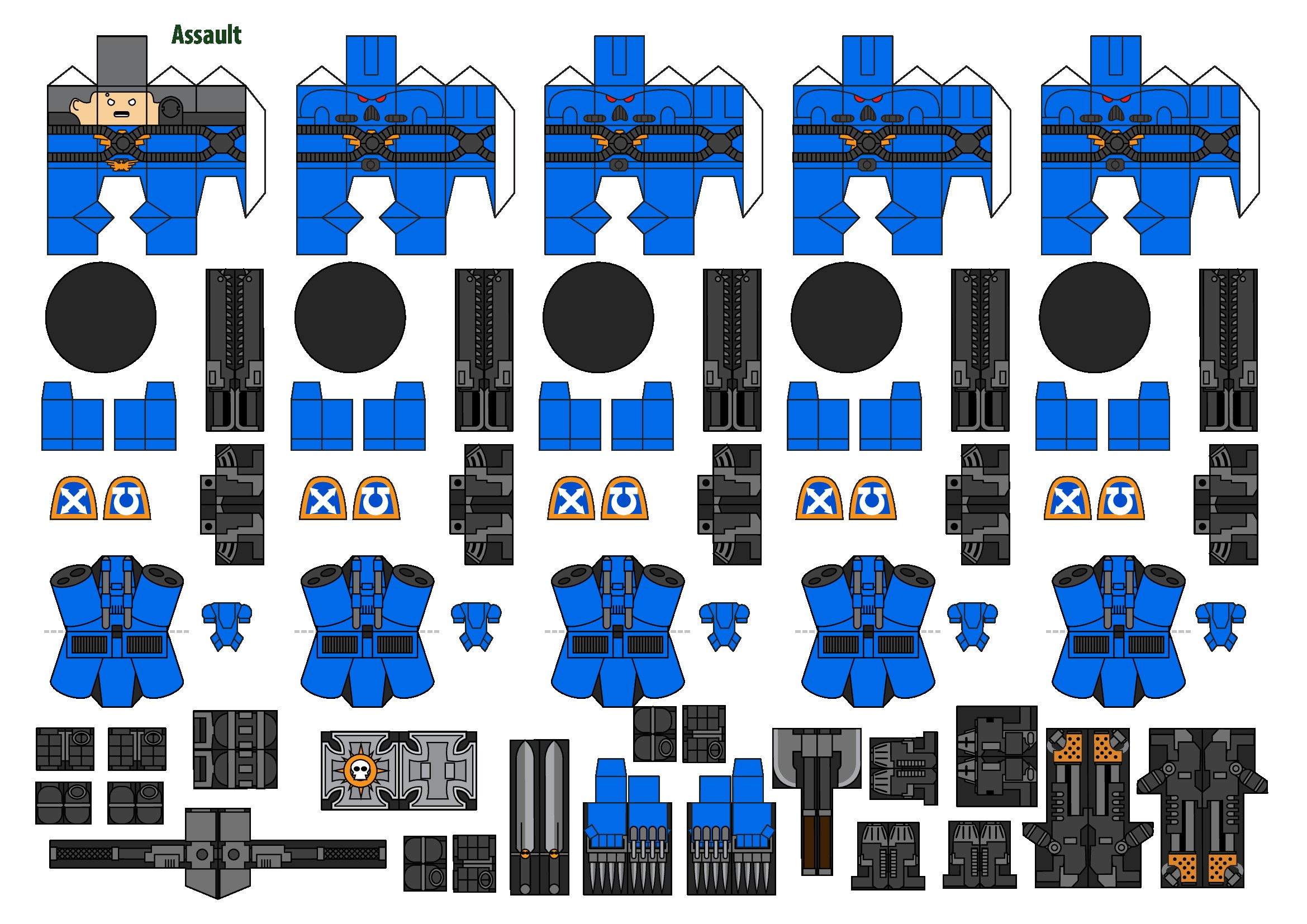 Warhammer 40k Papercraft Wh Papercraft Wh Conversion Miniatures Wh Warhammer