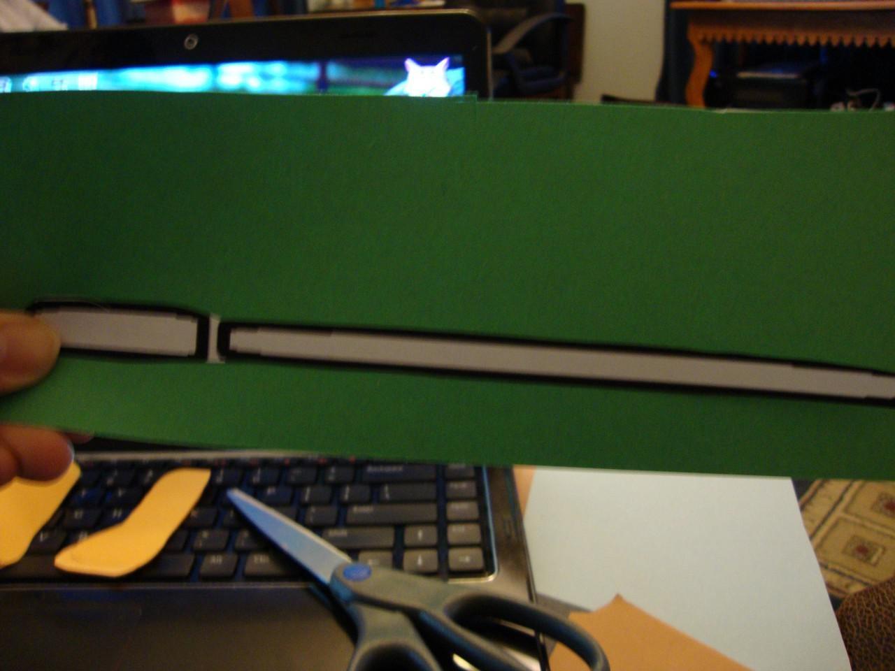 Weapon Papercraft Yoda Papercraft Einfach 2 D Gunook