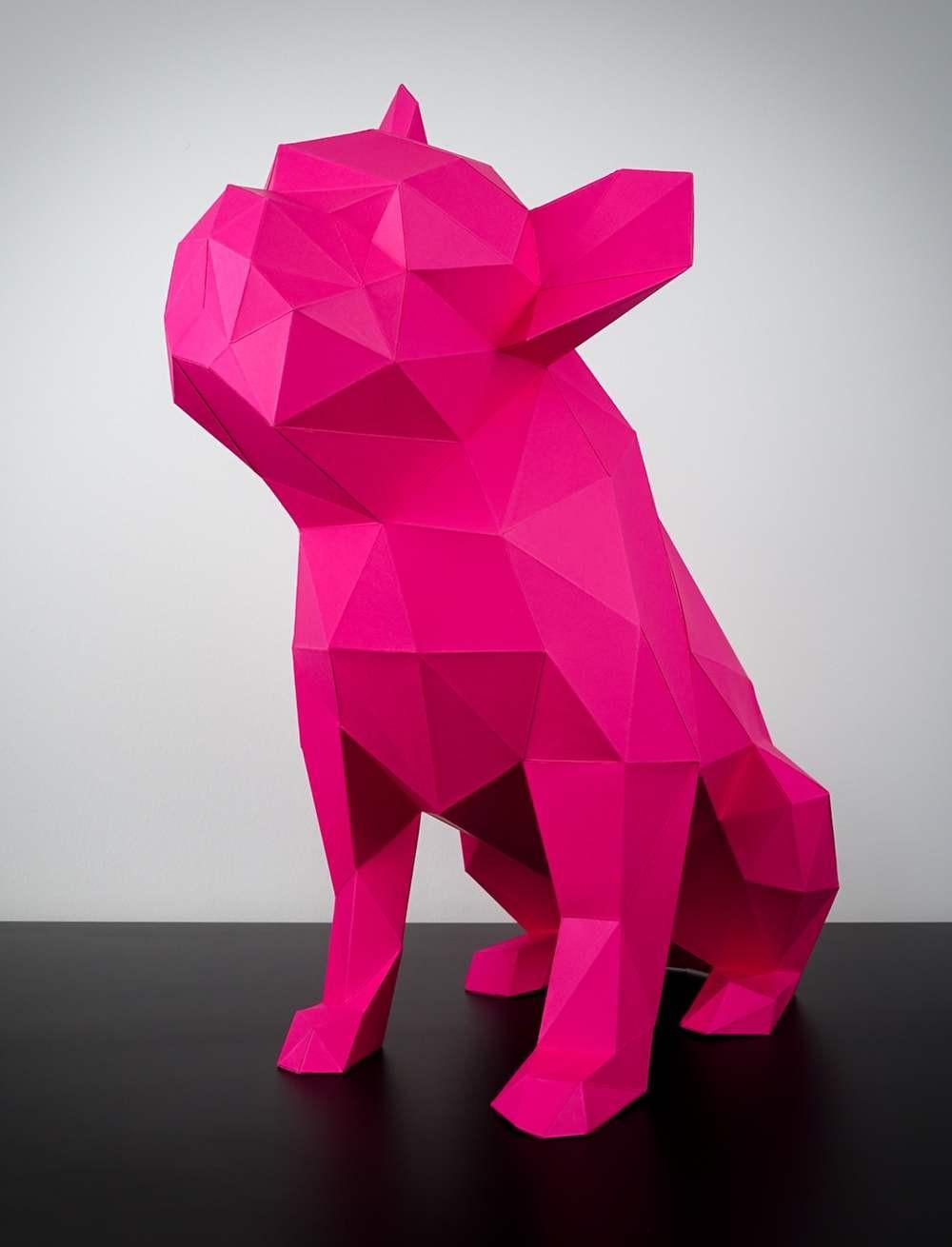 Wolf Papercraft Alle Papiertiere