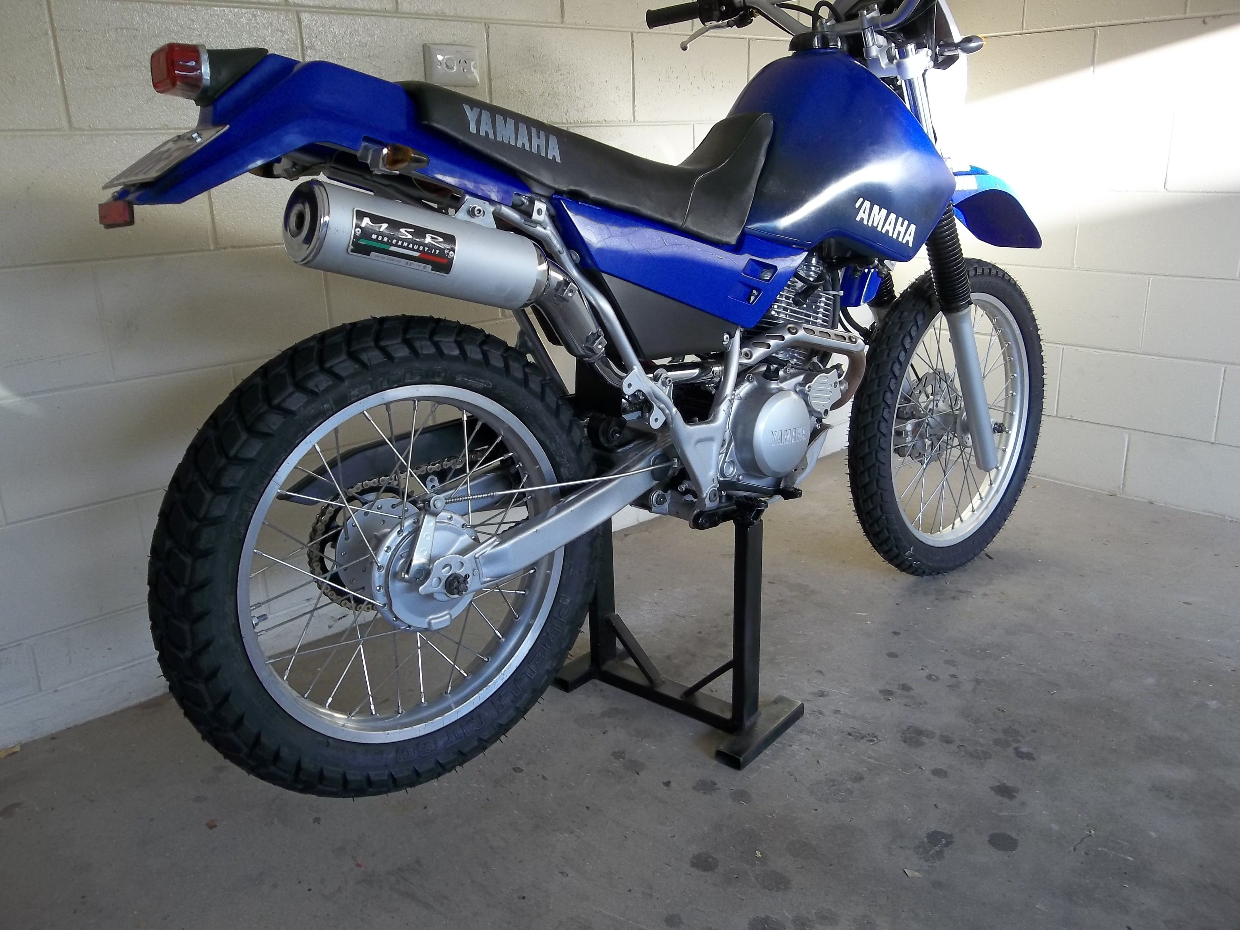 Yamaha Papercraft Motorcycle Yamaha Xt225 with after Market Exhaust Xt 225 Pinterest