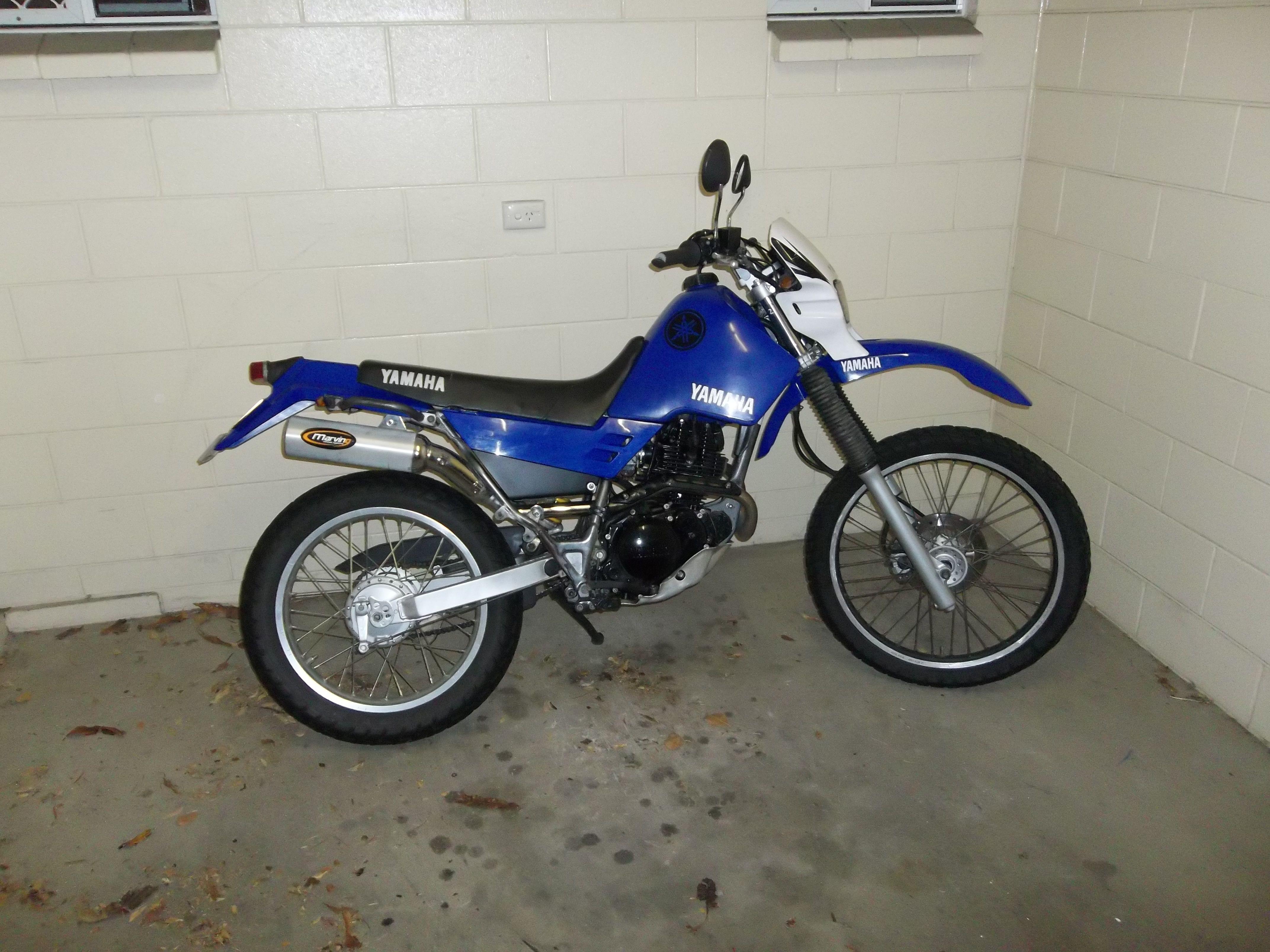Yamaha Papercraft Motorcycle Yamaha Xt225 Xt 225