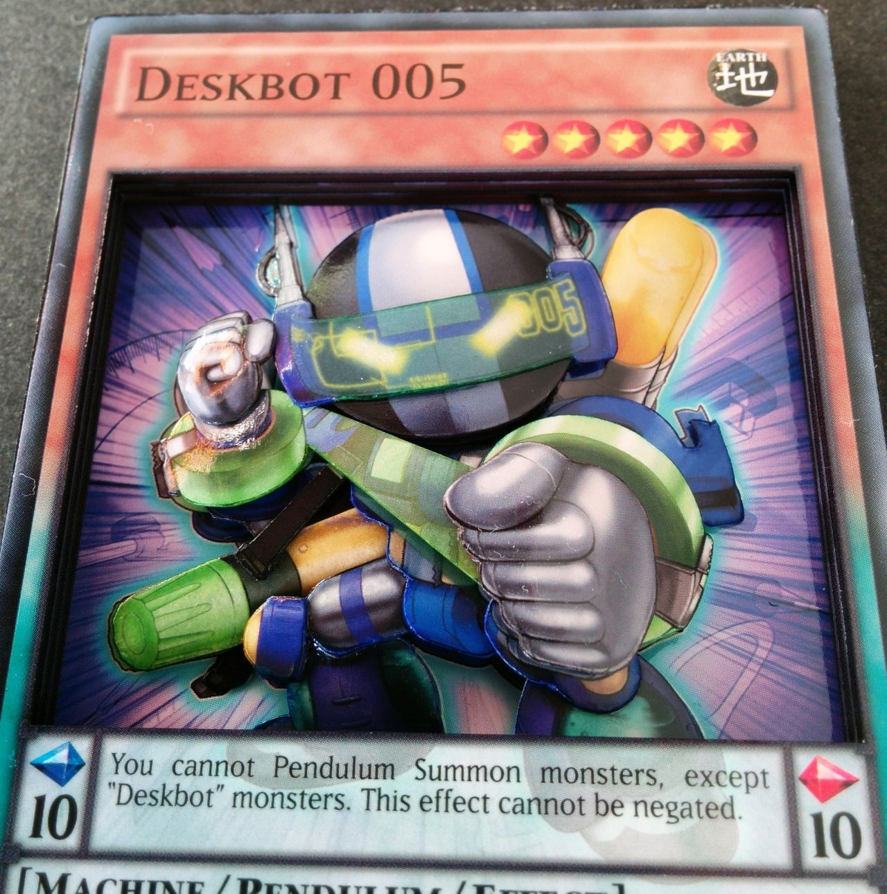 Yugioh Papercraft Deskbot 005 Check Out My Shop or See More