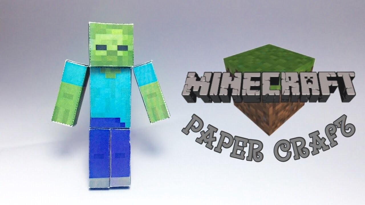 Printable Zombie Papercraft